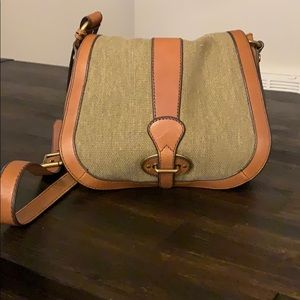 Tan Leather Fossil Crossbody